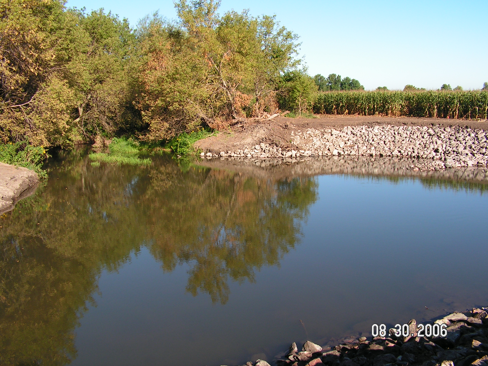 Photo of 2006 Anna  Martin and Randy Sook Streambank Stabilization