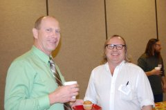 RCRCA Chair Norman Holmen and Area II Chair Luke Johnson
