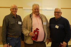 Retiring Area II Board Members: Commissioners Bob Moline, Louis Sherlin and Rodney Stensrud.