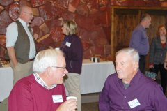 Photo of Lyon County Commissioner Rick Anderson and Former Murray County Commissioner Dave Thiner.