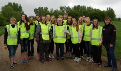 Photo of 2015 Wabasso We Act group performed community service.