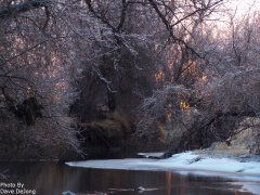 Photo of Frosty River by Dave DeJong.
